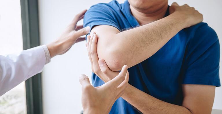 Man Receiving Chiropractic Adjustment